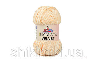 Плюшевая пряжа Нimalaya Velvet, цвет Персиковый