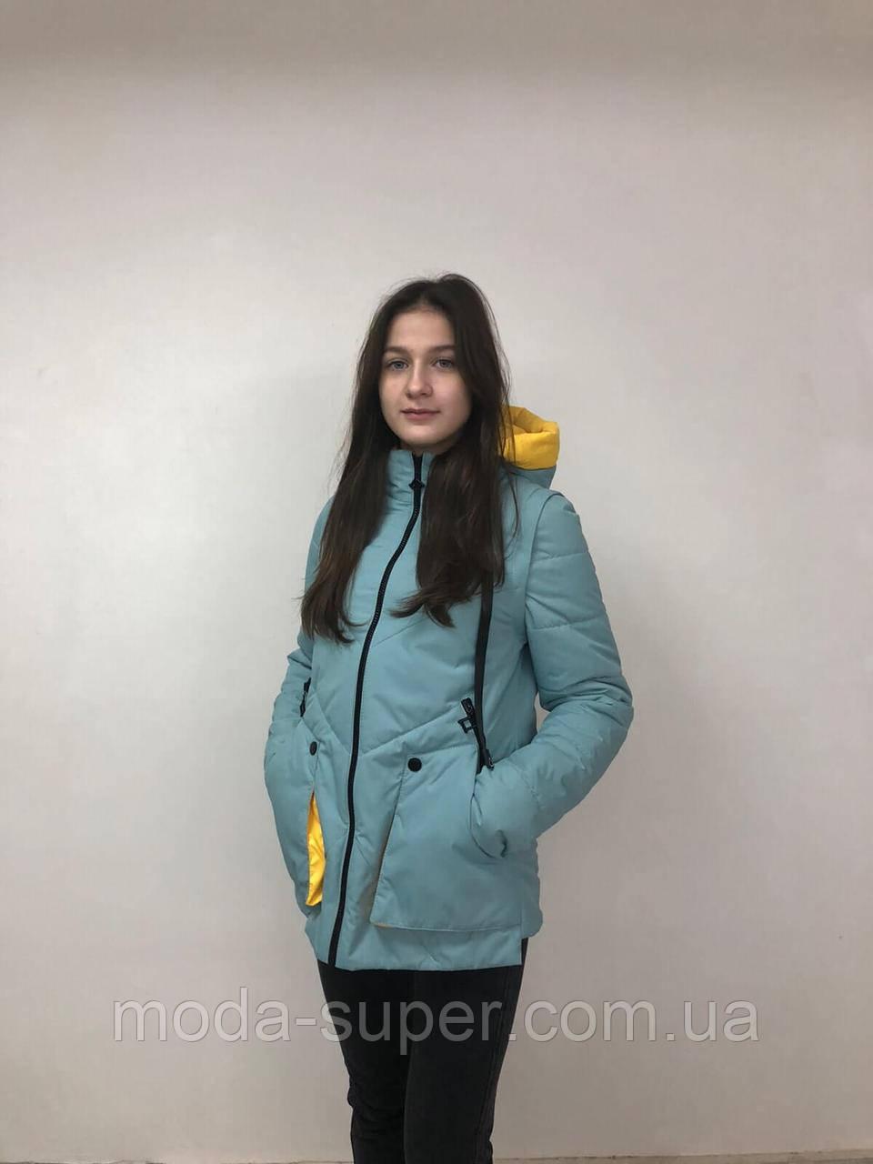 Весняна куртка-жилет рр 42-52