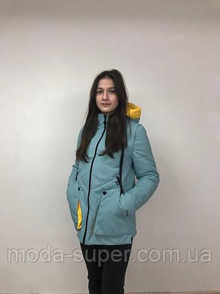 Весняна куртка-жилет рр 42-52, фото 2
