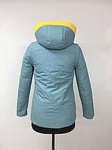 Весняна куртка-жилет рр 42-52, фото 3