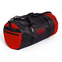 Спортивная сумка – тубус 40L red от MAD™