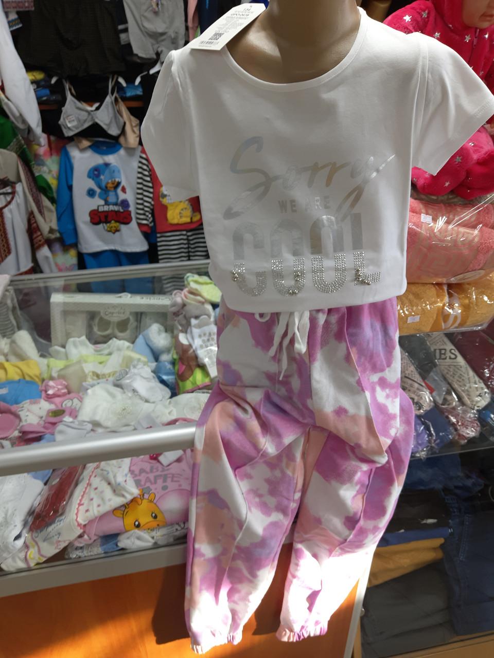 Ошатна футболка Туніка для дівчинки р. 122 - 158