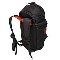 Спортивная сумка-рюкзак Infinity черно-красная от MAD | born to win