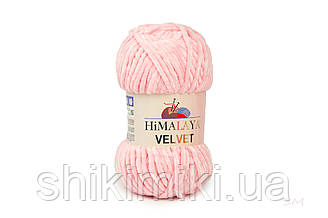 Плюшевая пряжа Нimalaya Velvet, цвет Розовый