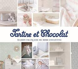 Tartine et Chocolat детские обои для стен каталог Lutece Франция флизелин