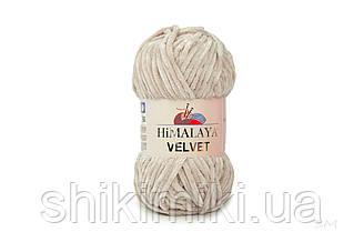 Плюшевая пряжа Нimalaya Velvet, колір Пудровий