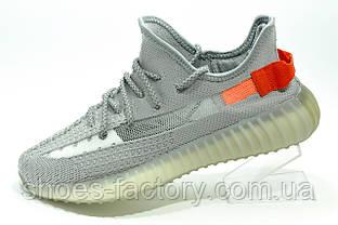 Чоловічі кросівки в стилі Adidas Yeezy Boost, Сірі