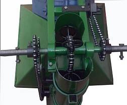Картофелесажалка мотоблочная с бункером для удобрений Кентавр, фото 3