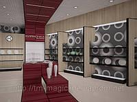Дизайн проект интерьера, проект магазина, дизайн торговой мебели, фото 1