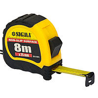 Рулетка shiftlock 8м×25мм SIGMA (3815081)