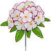 Штучні квіти букет Фіалка кольорова бордюр , 23 см