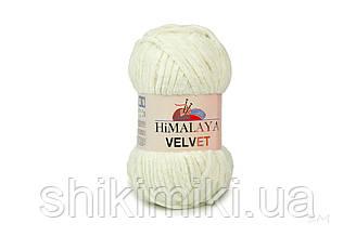 Плюшевая пряжа Нimalaya Velvet, колір Молочний