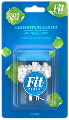 Сахарозаменитель ФитПарад №21 флакон с таблетками (300 шт)
