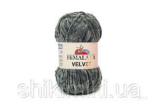 Плюшевая пряжа Нimalaya Velvet, цвет Мышиный