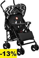 Детская прогулочная коляска Lionelo ELIA OSLO BLACK/WHITE Легкие детские прогулочные коляски