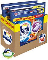 Капсули для прання універсального білизни Dash Ambra квітковий 3 в 1 96 шт