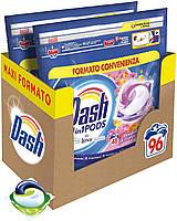 Капсули для прання універсального білизни Dash Bouque Di Primavere квітковий 3 в 1 96 шт
