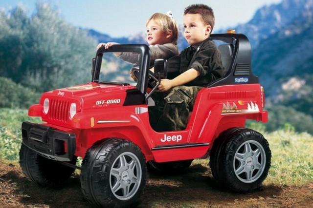 автомобилей с электродвигателем для детей
