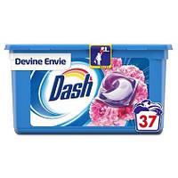 Капсули для прання універсального білизни Dash Bouque Di Primavere квітковий 3 в 1 37 шт