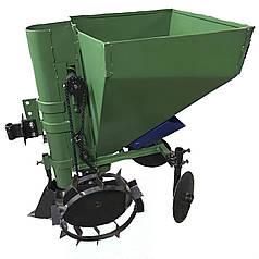 Картофелесажалка для мотоблока с бункером для удобрений КСН-1М