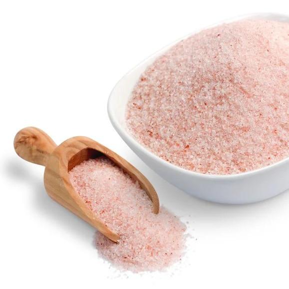 Соль Розовая гималайская, 100 грамм. Мелкая соль.