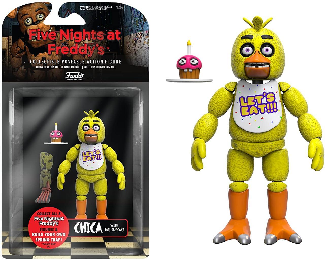 Фигурка Чико Funko Five Nights at Freddy's Articulated Chica Action Figure