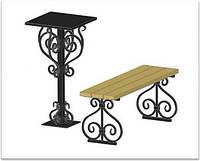 Ритуальная лавочка+столик