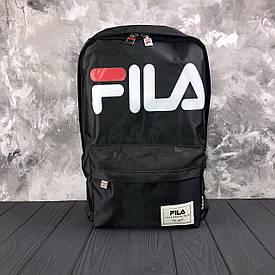 Водонепроникний чорний спортивний рюкзак Fila