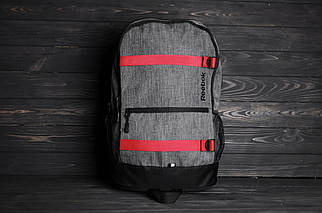 Спортивний сірий рюкзак для ноутбука Reebok
