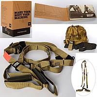 Тренажер MS 2865-2 (5шт) тренировочные петли TRX, для фитнеса, турника, в кор-ке, 18-26,5-18см