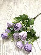 Искусственные розы, букет декоративных роз ( 42 см )