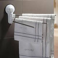 Держатели для полотенец в ванную