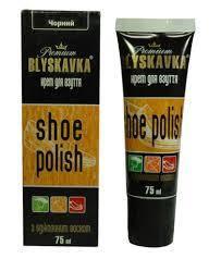 Крем для взуття 75 мл.рудий апл.BLYSKAVKA