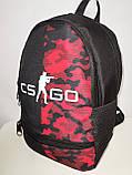 Принт рюкзак STARS спортивный спорт городской стильный Школьный Хорошее качество рюкзаки оптом, фото 3