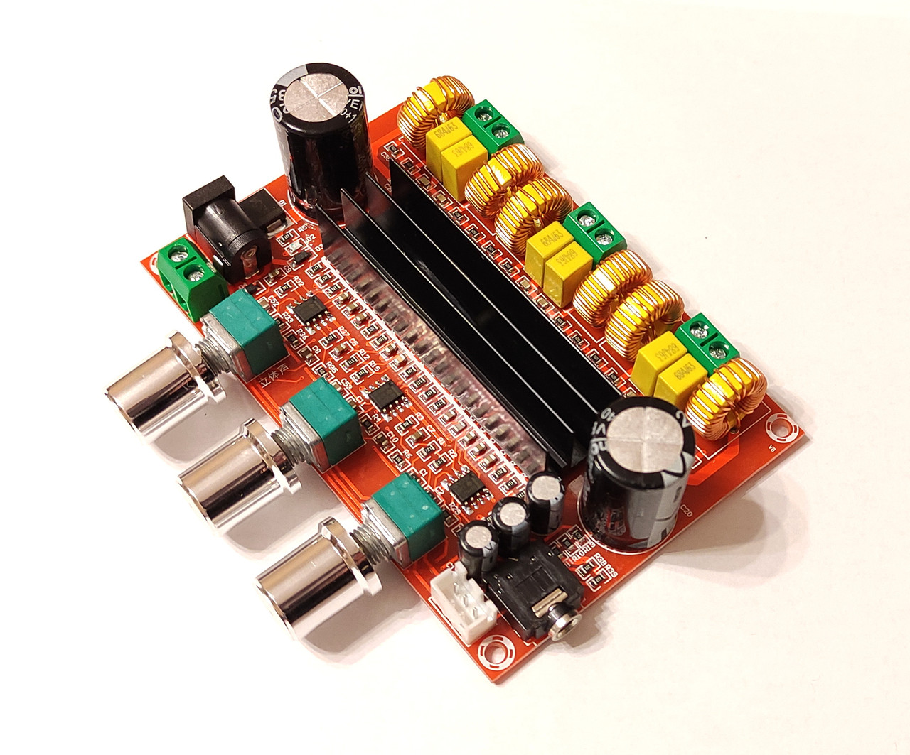 Аудио усилитель мощности XH-M139 SMD - TPA3116D2 50Вт*2+100Вт 2.1 DC 8-24В