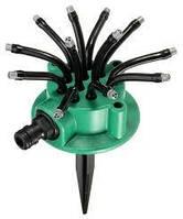 Спринклерный ороситель Water Sprinklers 12 в 1 Fresh Garden распылитель для газона