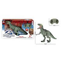 Динозавр RS6136 лист. керув., ходити, рухомі деталі, муз., світло, бат., кор., 53,5-32,5-12 див.