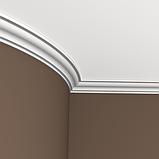 Карниз 1.50.103 гибкий для потолка с пенополиуретану, фото 2