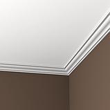 Карниз 1.50.103 гибкий для потолка с пенополиуретану, фото 3
