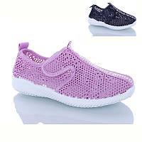 Мокасини текстильні для дівчинки р31-36 (код 4050-00)