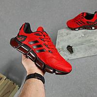 Кроссовки мужские Adidas ClimaCool Vento красные, Адидас Климакул, плотная ткань, прошиты. Код OD-10412