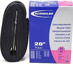 Камера Schwalbe SV20 XXLong 28 (700x18 / 25C) ніпель FV 80мм