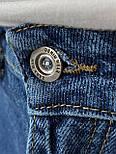 😝 Джинси - широкі Чоловічі Джинси / чоловічі джинси сині з якісного котону ZARA, фото 7