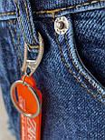 😝 Джинсы - Мужские широкие Джинсы / чоловічі джинси сині з якісного коттону ZARA, фото 4
