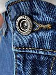 😝 Джинсы - Мужские широкие Джинсы / чоловічі джинси сині з якісного коттону ZARA, фото 6