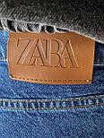 😝 Джинсы - Мужские широкие Джинсы / чоловічі джинси сині з якісного коттону ZARA, фото 7
