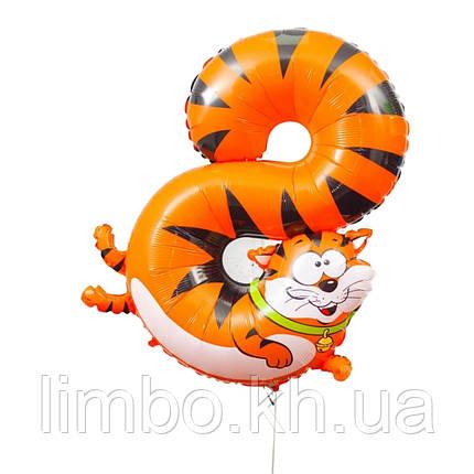 Кулька цифра 8 Кіт, фото 2