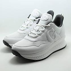 Белые женские кроссовки Grunberg 107586/06-01 на платформе р. 40