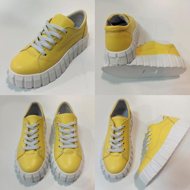 Женские желтые кроссовки, Arcoboletto фото