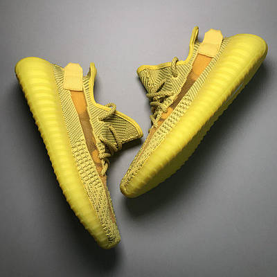 Кроссовки мужские Adidas Yeezy Boost 350 V2, желтого цвета, Адидас Изи Буст 350, кроссовки весна/осень